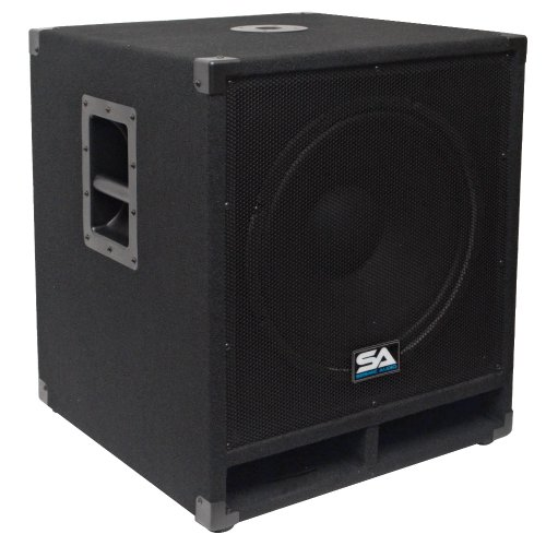 "Seismic Audio - Baby-Tremor - 15"" Pro Audio Subwoofer Cabinet - 300 Watts Rms - Pa/Dj Stage, Studio, Live Sound Subwoofer"