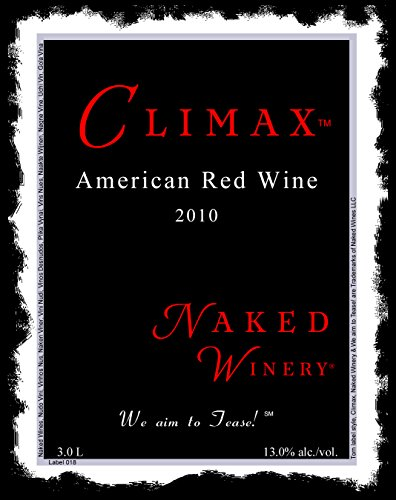 2010 Naked Winery Climax Red Blend 3 L