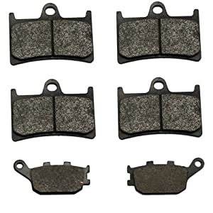 Volar A-(2xVMFA380)+VMFA174-ae-4 Kevlar Carbon Front and Rear Brake Pad