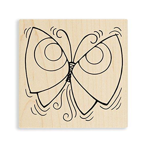 Stampendous Penpattern Flutter Rubber Stamp