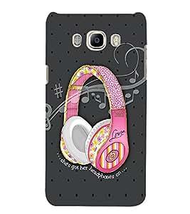 STYLISG SPEAKERS Designer Back Case Cover for Samsung Galaxy J7::Samsung Galaxy J7 J700F