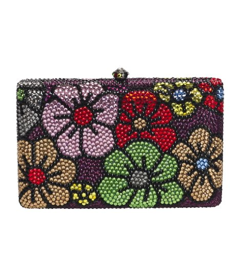 Natasha Retro Flower Clutch