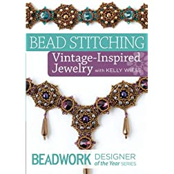 Beadwork Designer of the Year - Bead Stitch Romantic Jewelry