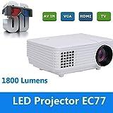 Ionium Everycom EC-77 3D LED Projector 1800 Lumens