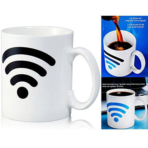 Ceramic WiFi Signal Mug Color Changing Cup Temperature Control Ceramic Cup (Variable Temperature Slow Cooker compare prices)