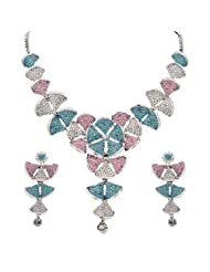 Sukkhi Color Stone Necklace Set - 1158VN3500