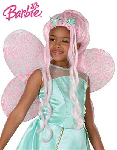 [Child Mattel Barbie Fairytopia Dahlia Costume Fairy Wig by Rubie's] (Fairytopia Barbie Costume)