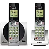 VTech CS6919-2 DECT 6.0 Cordless Phone with 2 Handset - Silver (Certified Refurbished)