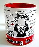 "Sheepworld Kaffeebecher ""Ohne Hamburg ist alles Doof"""