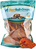 Prime Thick Cut Pig Ear Treats for Dogs (20 Pack) - All Natural, Single Ingredient, Protein-Packed Dog Treats - Fully Digestible And Made In The USA