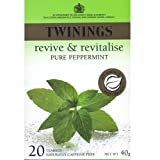 Twinings Pure Peppermint teabags 20bag - CLF-TWN-009