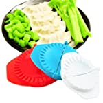 Denshine 3 PCS Plastic Dumpling Mold...