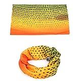 Fish Skin Slit Foam Fly Fishing Box & Fishing Scissor/Forceps & Headwear