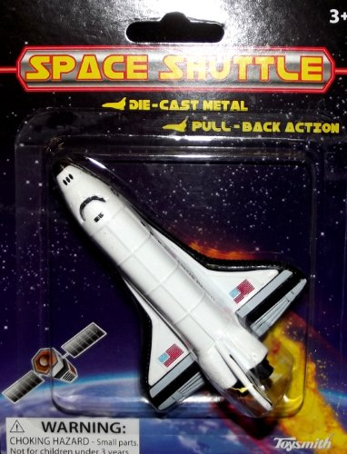 "Toysmith 4"" P/B Carded Space Shuttle - 1"