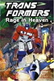 img - for Transformers: Rage in Heaven (Transformers (Titan Books Paperback)) book / textbook / text book
