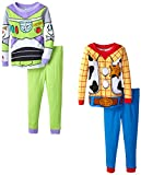 Komar Kids Little Boys Toy Story 4 Piece Sleep Set