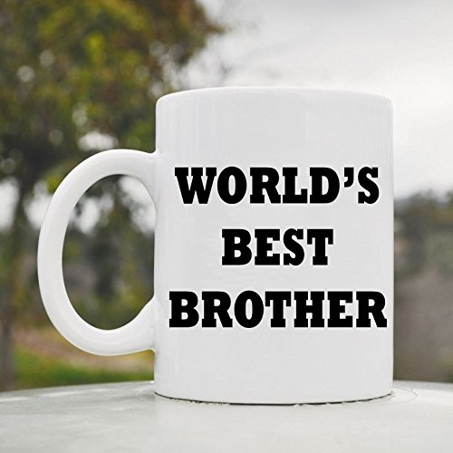 World'S Best Brother Cute Funny 11Oz Ceramic Coffee Mug Cup