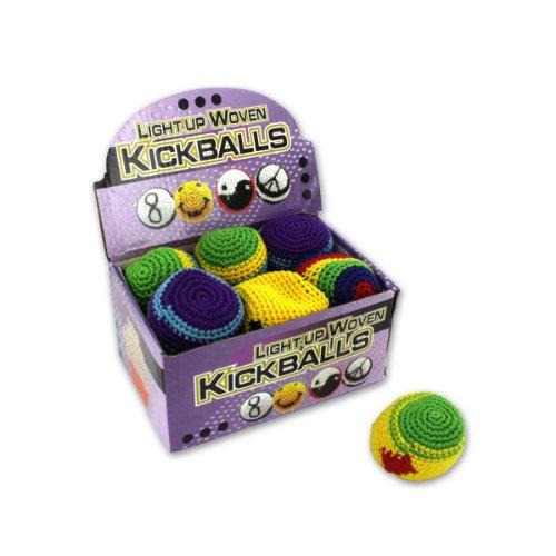 Light-Up Kickballs, Case Of 96