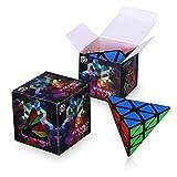 Dreampark Pyraminx Pyramid Speed Cube Puzzles, Black