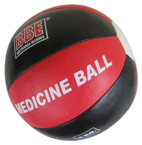 BBE Medicine Ball - Red/Black, 4kg
