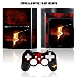 PS3 Resident Evil Controller Faceplate and Skinz - Logo