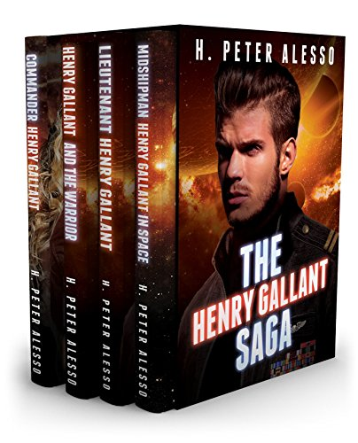 Sale Price of 99 cents! Fans of Star Wars check out the 4-in-1 BOXED SET ALERT: H. Peter Alesso's thrilling sci-fi adventure The Henry Gallant Saga!