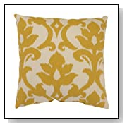 Marigold Yellow Decorative Throw Pillow