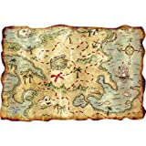 Plastic Treasure Map Party Accessory ...