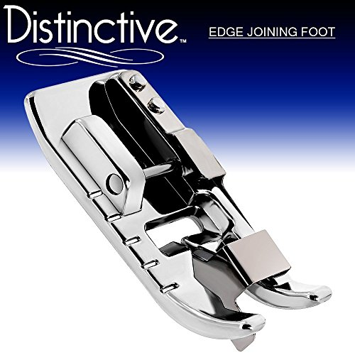 Cheapest Prices! Distinctive Edge Joining / Stitch in the Ditch Sewing Machine Presser Foot - Fits A...