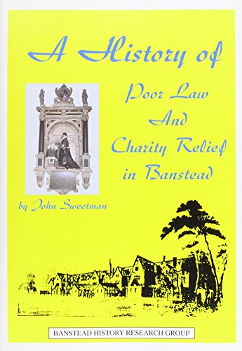 HISTORY OF POOR LAW AND CHARITY RELIEF