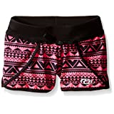 CB Sports Big Girls Active Sublimation Printed Runner Short, Aztec, 10/12