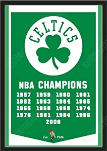Dynasty Banner Of Boston Celtics-Framed Awesome & Beautiful-Must For A... by Art and More, Davenport, IA