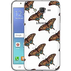 Digione designer Back Replacement Texture Plastic Cover Panel Battery Cover Snap on Case Cover for Samsung Galaxy J7 2015 ID:J7842