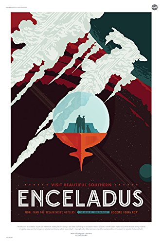 ENCELADUS-More-than-100-Breathtaking-Geysers-NASA-JPL-Space-Tourism-Travel-Poster-24-x-36-Unframed