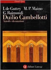 Duilio Cambellotti: Arredi e decorazioni (Grandi opere