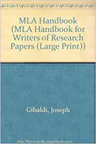 mla handbook for writers of research papers 6th edition gibaldi Find mla handbook for writers of research papers, sixth edition by gibaldi, joseph at biblio uncommonly good collectible and rare books from uncommonly good booksellers.