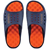 PR Soles Recovery Sandals - Navy/Orange (Mens) - Extra Large
