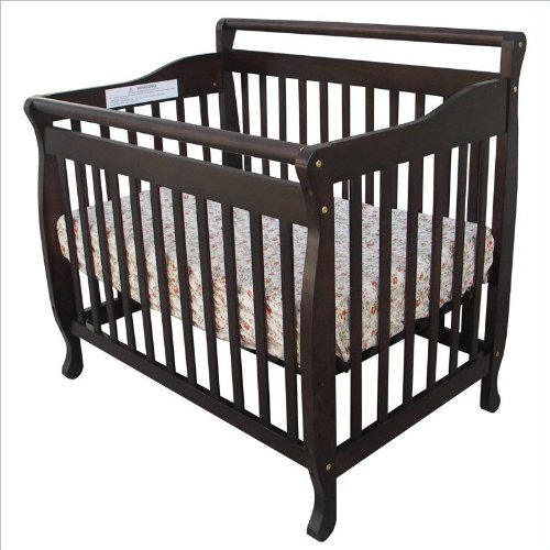 Dream On Me 3-in-1 Convertible Crib in Espresso
