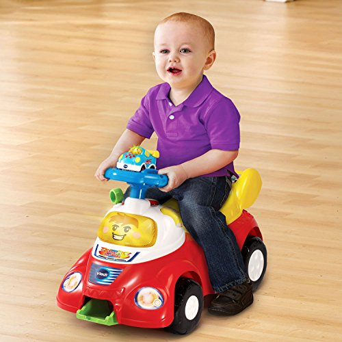 VTech Go! Go! Smart Wheels Launch and Go Ride On (Frustration Free Packaging) JungleDealsBlog.com
