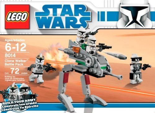 LEGO Star Wars Clone Walker Battle Pack (8014) Amazon.com