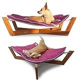 Pet Lounge Studios Bambu Hammock I Passion Pink OS -Kids
