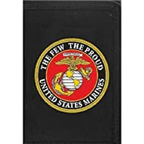 US Marine Corps Trifold Direct Embroidered Wallet