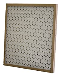 Glasfloss Industries PTA20361 PTA Series Heavy Duty Disposable Panel Air Filter, 12-Case