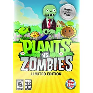 Plants Vs. Zombies Video Game for Xbox 360