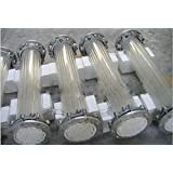 GOWE Glass shell and tube heat exchanger,L=3050mm,Diameter 300mm,15 square meters