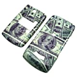 $100 MONEY CASH snap on hard case faceplate for ZTE C79 (many other designs available!)