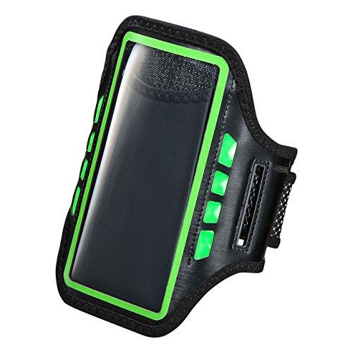 サンワサプライ LED付きアームバンドケース(5.5インチ) PDA-ARM5G