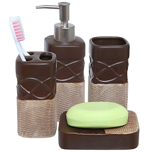 Best bathroom soap dispenser set for sale 2017 giftvacations for Bathroom stuff for sale