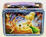 Disney Fairies Tinkerbell & Friends Small Embossed Lunch Box Tin/ Carry-all