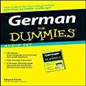 German For Dummies (       UNABRIDGED) by Edward Swick Narrated by uncredited